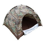 Carpa Camping Armable Semi Impermeable 4 Personas Rf Yh-2