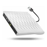 Unidad Externa De Cd Dvd, Usb 3.0 Slim Grabadora - Regrabado