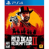 Red Dead Redemption 2 Ps4 Fisico + Mapa + Dlc. Entrega Hoy