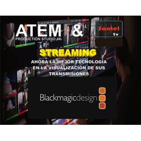 Streaming Televisión Vivo Directo Dedicado Multitransmisión