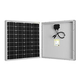 Panel Solar Monocristalino 50w/12v, Cable Mc4