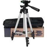 Tripode Aluminio Para Camara Fotos + Soporte Celular Jf3110
