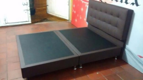 Base cama doble 140 190 dividida somier doble 140 190 for Cama doble precio