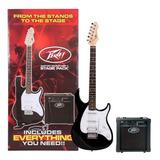Combo De Guitarra Peavey Raptor Stage Pack Bk Amplificador