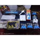 Sega Dreamcast Pistola, Caña Varios Accesorios