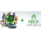 Xbox Game Pass Ultimate 1 Año Xbox One Pc + Gold Live