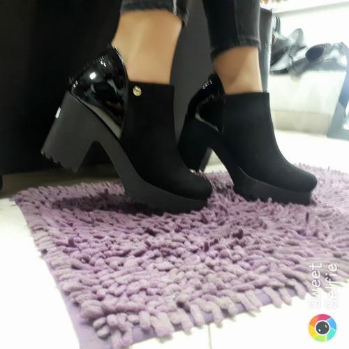 42709098 Calzado Para Mujer Botines Elegantes Tacon 5 1/2