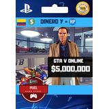 $5.000.000 Millones Dinero Gta V Online Ps4