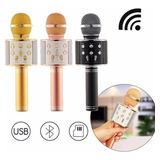Microfono Bluetooth Ws 858 Karaoke