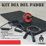 Kit Entrena En Casa Rueda Abdominal Lazo Cuerda Elástica Más