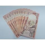 Billetes 100 Pesos Colombianos X 10 Pcs, Años 1989 - 1991.