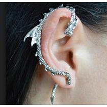 f345f3beb2dd Arete Solitario De Dragon Ear Cuff Solitario Dragon Zarcillo