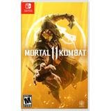 Mortal Kombat 11 Nintendo Switch Original Fisico Y Sellado