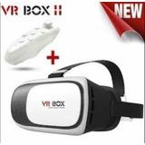 Gafas De Realidad Virtual Vr Box 2.0 + Control Bluetooth
