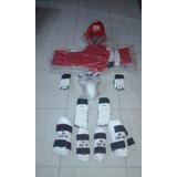 Equipo Taekwondo Complet0 Canlleras  Y Antebraceras Talla M