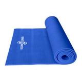 Colchoneta Yoga Y  Ejercicios Azul Sport Fitness Hc.