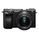 Cámara Sony Alpha A6400 Mirrorless 4k + 16-50mm+32gb+bolso