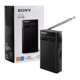 Radio Sony Original 2 Bandas Am-fm + Correa Pilas Doble A