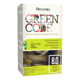 Tinte Sin Amonico Green Code Kit 8.0 - g a $432