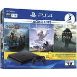Consola Playstation 4 Slim 1tb Hits Bundle 3 Juegos Plus 3 M