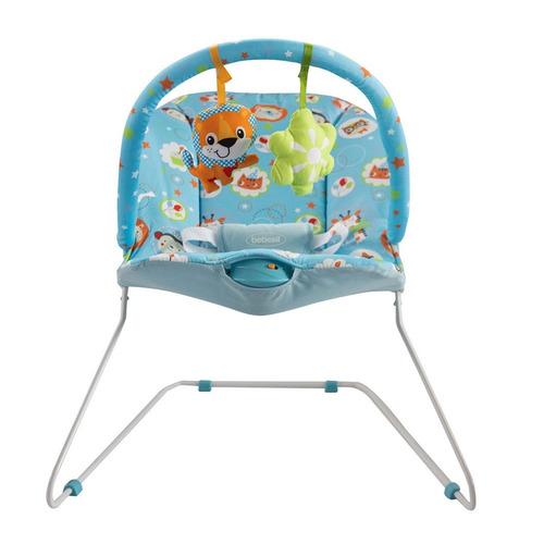 6ab0ab700 Silla Vibradora Para Bebe Bebesit Antireflujo Rosada Azul