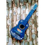 Guitarras Acusticas Niños Hasta 4 Años+ Forro Nuevos Diseños