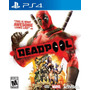 Deadpool Playstation 4 Nuevo Y Sellado!