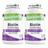Biotina: 10.000 Mcg - Americana - 2 - Unidad a $450