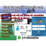 Venta De Internet Por Pines O Fichas Wifi Gran Negocio