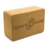 Cubo Bloque Para Yoga Corcho Sportfitness