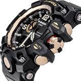Reloj G-shock Mudmaster Gwg 1000gb Negro Dorado Especial