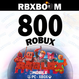 Tarjeta Roblox 800 Robux Original Gift Card Envío Rápido