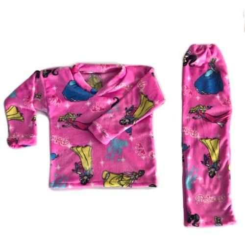a0e9692b3 Pijamas Térmicas Niña Princesas Disney