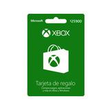 Tarjeta Regalo Xbox $25.900 Región Colombia