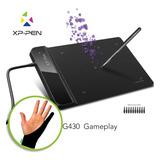 Tableta Gráfica Xp-pen G430s Dibujo  Diseño Y Firma