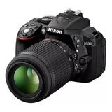 Cámara  Nikon D5300 24.2mpx Kit 18-55mm  Wifi.