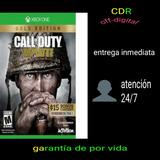 Oferta  Call Of Duty Wwii Gold Edition Xbox One Offline