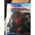 Metal Gear Solid V: The Phantom Pain Ps4 Envio Gratis