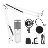 Micrófono Condensador Profesional Neewer Nw800 + Accesorios