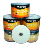 Dvd-r 8x Rhino Imprimible - Unidad a $5