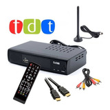 Decodificador Krono Tdt Receptor Tv Digital Dvb Hdmi Antena