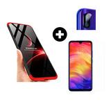Estuche 360 Xiaomi Redmi Note 7 + Vidrio  + Vidrio Camara