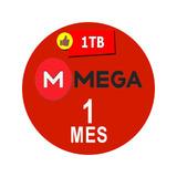 Cuentas Premium Mega 30 Dias 1 Mes Oficial 1500gb Mensual