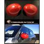 Mini Cooper S/un R55 R56 R57 Ala Rojo Espejo Tapas Cubierta MINI