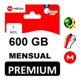 Cuentas Premium Mega 2 Meses Oficial 600gb Envió Inmediato