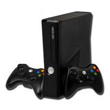 Xbox 360  Slim Personalizado+ 90j  500 Gigas + Dos Controles