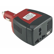 Inversor Automovil 12vdc-110vac 70w Para Tv, Dvc Laptop