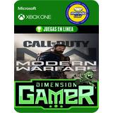 Call Of Duty M.w - Xbox One Modo Local + En Linea