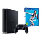 Consola Playstation 4 1 Tb + Fifa 19 Fisico Español