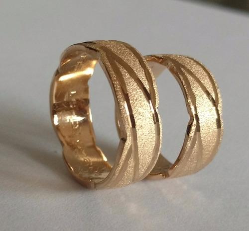 1d296ab9d5b0 Argollas Matrimonio Oro Rosado De 18k Peso 12 Gr Precio Par